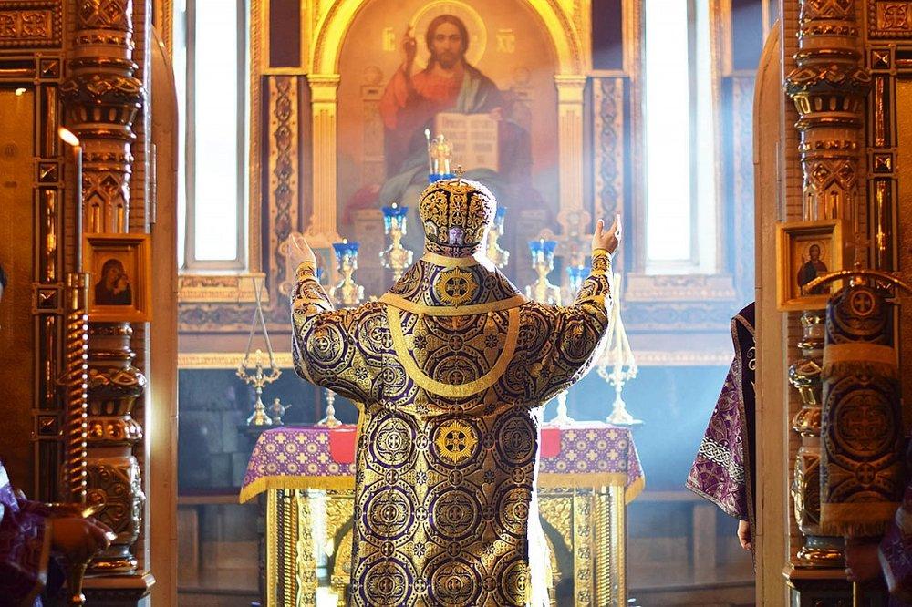 Неделя первая Великого поста: Торжество православия 17 марта 2019 года