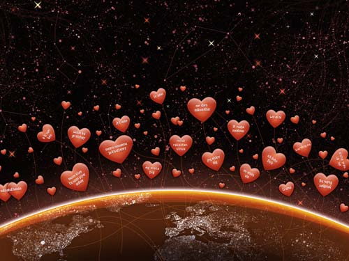 Любовный гороскоп на январь 2014