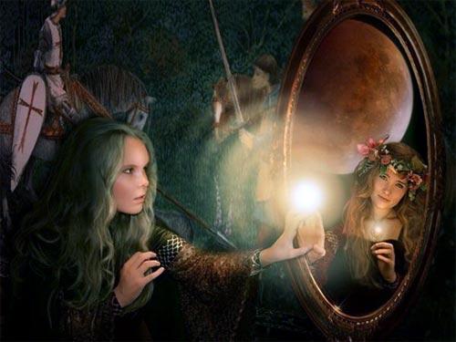 Виталий Гиберт о популярном гадании на зеркалах