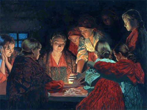 Народные гадания на любовь: как узнать судьбу в святки