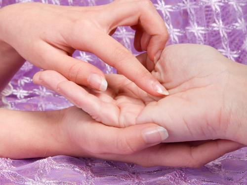 Хиромантия: пальцы на руке