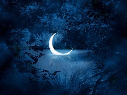 Заговоры на убывающую Луну