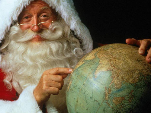 Как зовут Деда Мороза в других странах