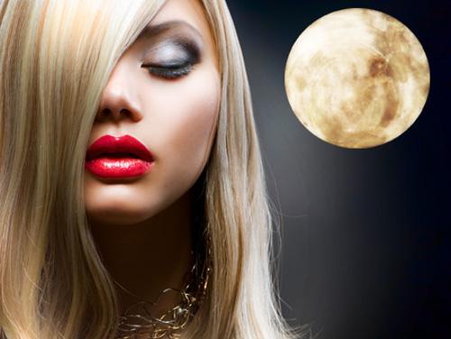 Влияние Луны на рост волос человека