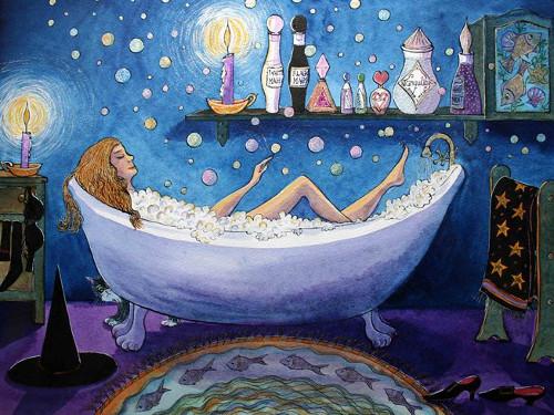 Симоронский ритуал на деньги «Денежная ванна»