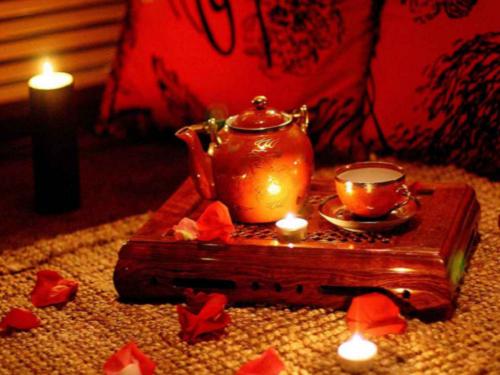 Любовное гадание на чае