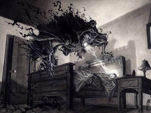 Как ночные кошмары вредят энергетике человека