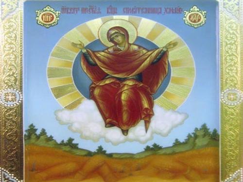 28октября— празднование иконы Божией Матери «Спорительница хлебов»