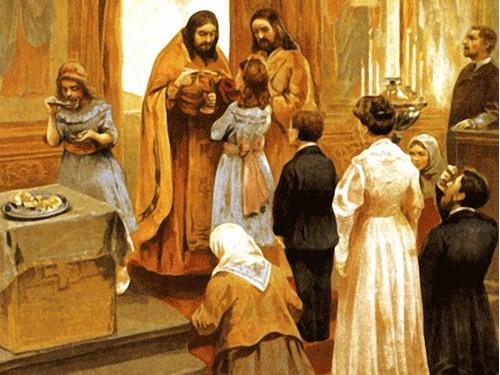 Молитвы перед исповедью ипричастием