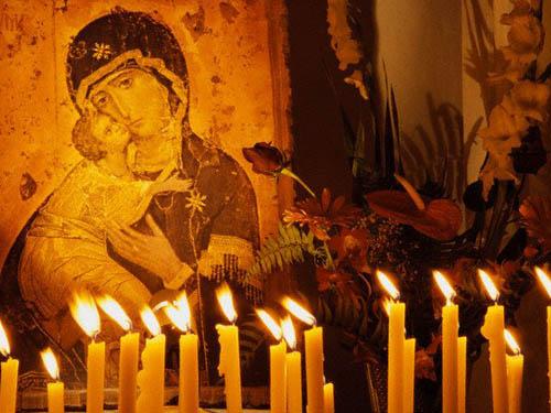 Молитва кБогородице осемье