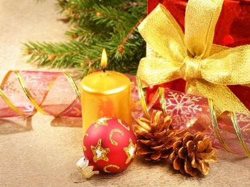 Новогодний ритуал с елочной игрушкой