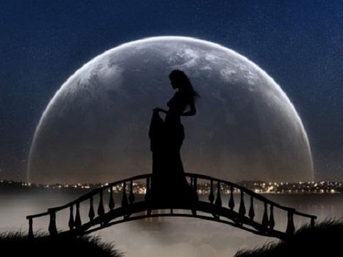 Обряд привлечения удачи на Полнолуние и на Убывающую Луну