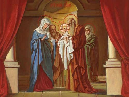 Праздник Сретения Господня: церковные традиции и народные обычаи