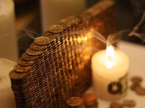 Денежный ритуал вполнолуние «Круглый Пятак»
