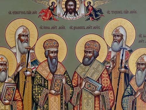 Сильная молитва московским святым