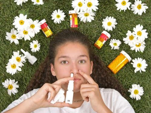 Аллергия на пыльцу: лечим народными средствами