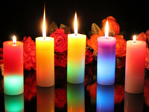 Свечи и их цвета: все об энергетике и ритуалах