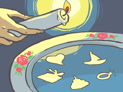 Гадания на воске и песке: ищем любовь и смотрим в будущее