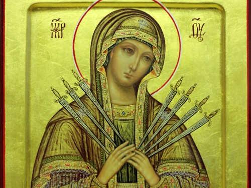 26августа— день Семистрельной иконы Божией Матери