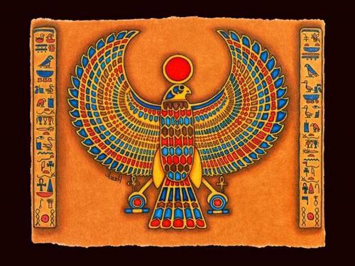 Египетский ритуал богу Солнца наудачу