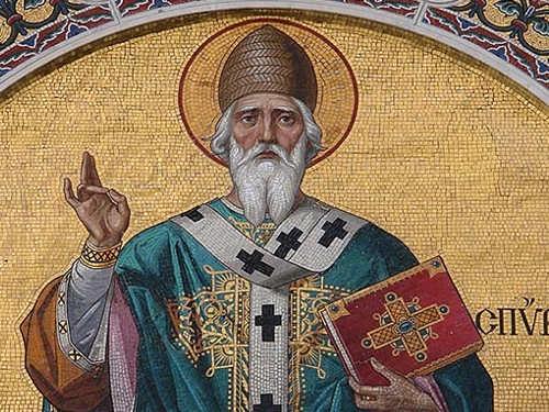 Молитвы вдень памяти святителя Спиридона Тримифунтского 25декабря