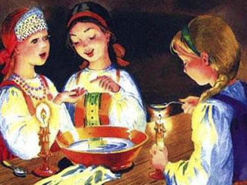 Святочные ирождественские гадания налюбовь