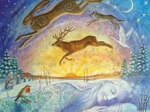 Колесо Года: зимний праздник Имболк