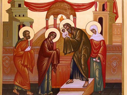 Сретение Господне 15февраля: история праздника