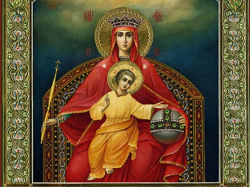День иконы Божией Матери «Державная» 15марта 2017 года