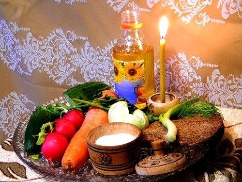 Страстная неделя Великого поста подням: что можно есть перед Пасхой