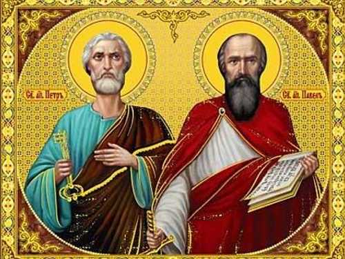 Икона святых апостолов Петра иПавла