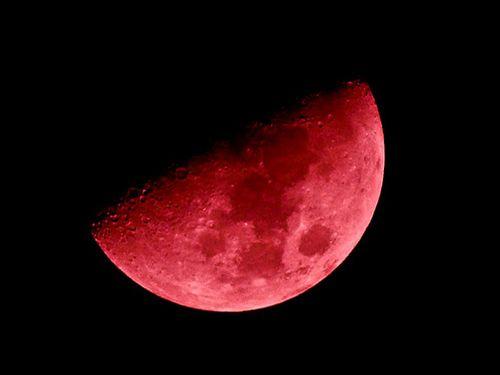 Лунное затмение 7августа 2017 года