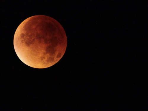 Лунное затмение 7августа 2017года: лучшие фотографии