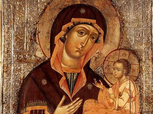 Смоленская икона Божией Матери «Одигитрия»