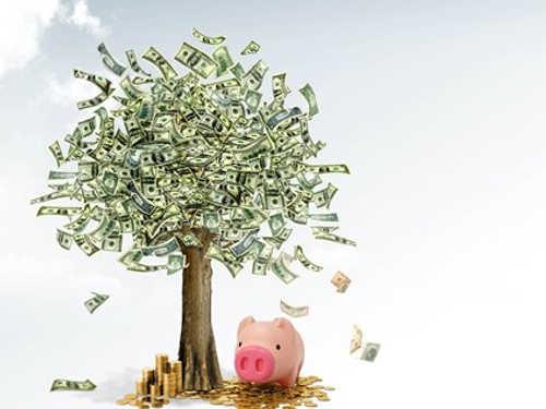 Как сделать денежное дерево изкупюр своими руками