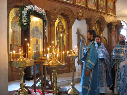 Порт-Артурская икона Божией Матери «Торжество Пресвятой Богородицы»