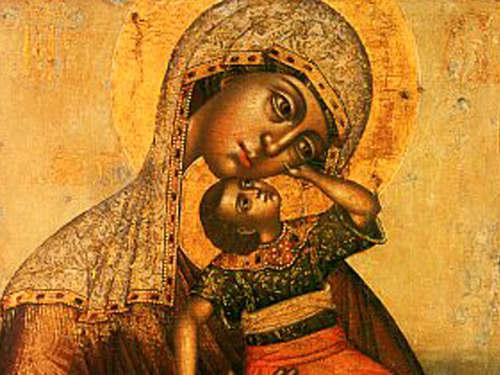 Икона «Взыграние Младенца»