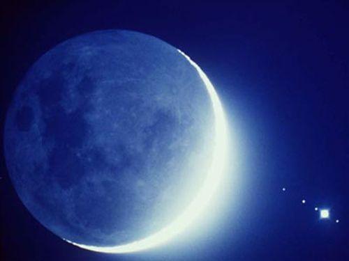 Растущая Луна вдекабре 2017 года