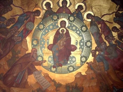 Икона «Собор Пресвятой Богородицы»