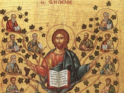 Икона «Христос Виноградная Лоза»
