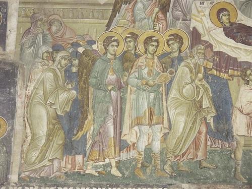 Киево-Печерская икона Божией Матери