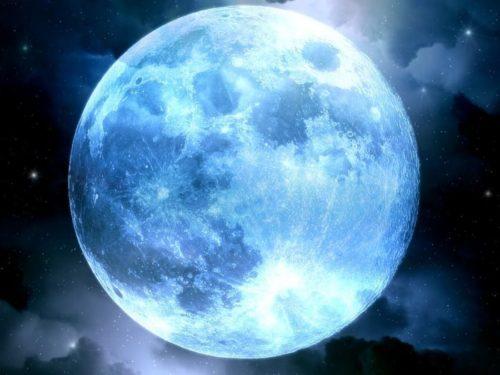 Голубая Луна вмарте 2018 года