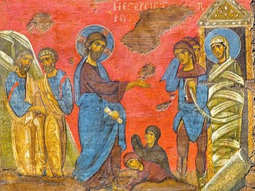 Икона «Воскрешение Лазаря»