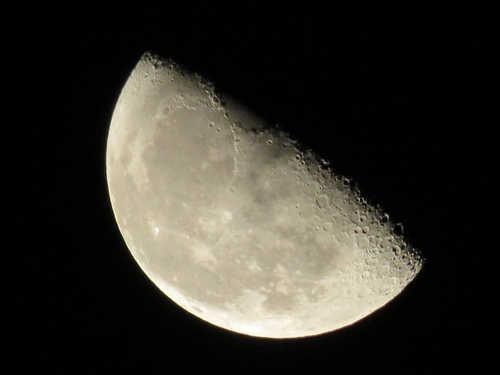 Убывающая Луна вапреле 2018 года