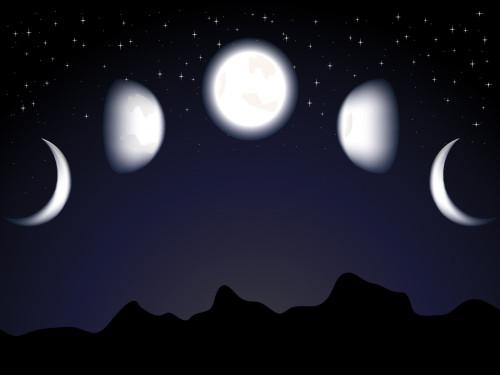 Убывающая Луна в июне 2018 года