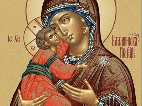 «Богородице Дево, радуйся»: текст молитвы нарусском языке