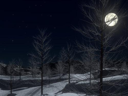 Убывающая Луна вдекабре 2018 года