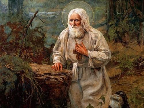День памяти святого Серафима Саровского 15января 2019 года