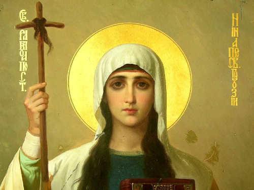 День памяти святой равноапостольной Нины 27 января 2019 года