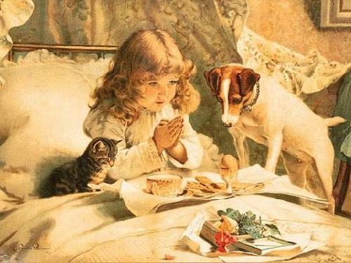 Православные молитвы перед едой ипосле еды